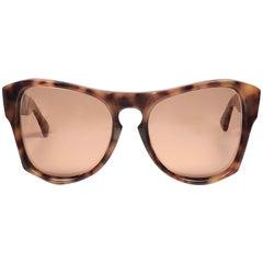 "New Vintage Yves Saint Laurent YSL "" Vanessa "" Tortoise 1970 France Sunglasses"