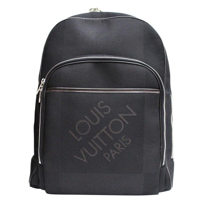 LOUIS VUITTON Black Damier Geant Neo Bongo Backpack Bag
