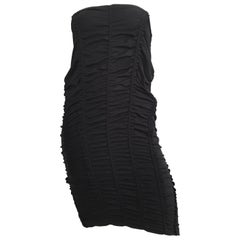 Donna Karan Black Parachute Dress Size 6.