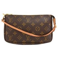 Louis Vuitton Pochette Accessoires Monogram Canvas Hand Bag