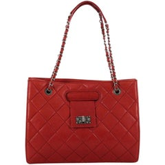Chanel Paris-Byzance Take Away Tote Quilted Aged Calfskin Medium
