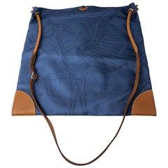 Hermes Blue Silky City Bag