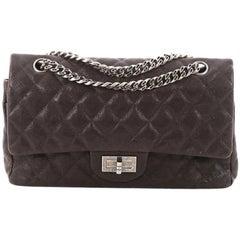 Chanel Reissue 2.55 Handbag Quilted Caviar 225