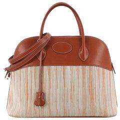 Hermes Bolide Handbag Vibrato and Barenia 35