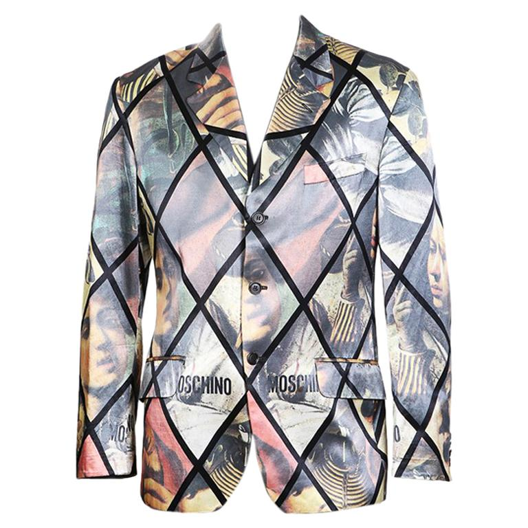 Blazer 1stdibs At Window Sale Print Pane Moschino For Caravaggio R8wSIxxq