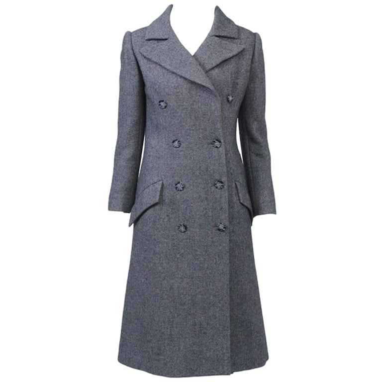 Guy Laroche '70S Tweed Coat and Skirt