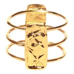 Christian lacroix gold bracelet