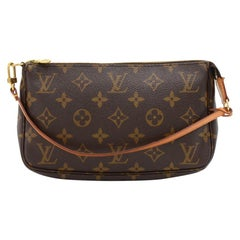 Louis Vuitton Pochette Accessoires Monogram Canvas Hand Bag