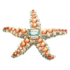 Kenneth Jay Lane Starfish Brooch