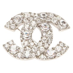 Chanel Iconic CC Logo Brooch