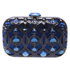 Anna Cecere Italian designed Lustrino Jewel clutch