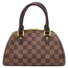 Louis Vuitton Mini Ribera Enene Damier Canvas Hand Bag