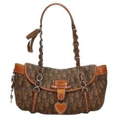 Dior Brown Oblique Romantique Handbag