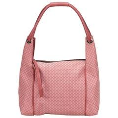 Gucci Pink Micro Guccissima Shoulder Bag