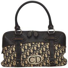 Dior Brown Oblique Jacquard Handbag