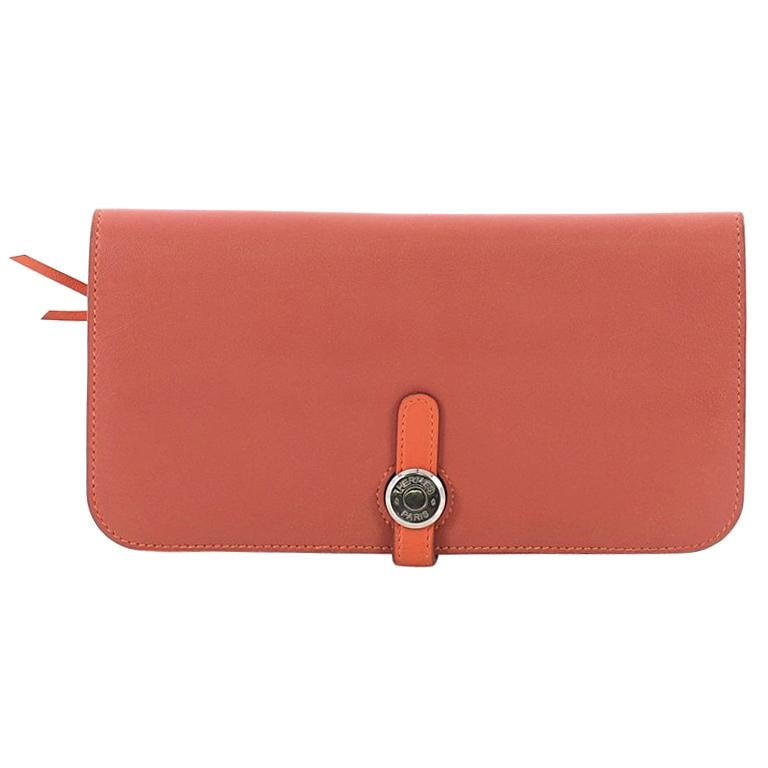 Hermes Dogon Recto Verso Leather Wallet