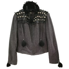 Moschino Shells Fringes Jacket
