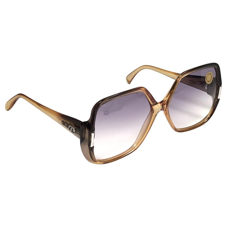 27820b6645 New Vintage Persol Ratti Oversized P207 Made in Italy Sunglasses ...