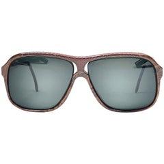 Vintage Rare Tura Canada Mod 791 Leather 1980 Sunglasses
