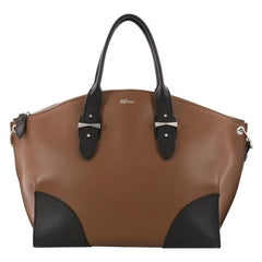 Alexander McQueen Legend Convertible Satchel Leather Medium