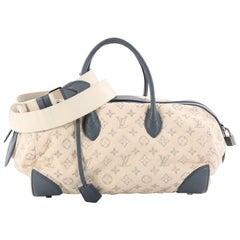 Louis Vuitton Round Speedy Bag Monogram Denim