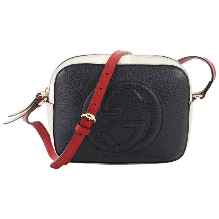 487f1cbb893 Gucci Soho Disco Crossbody Bag Leather Small at 1stdibs