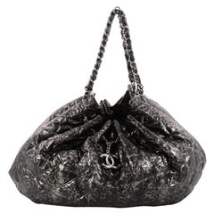 Chanel Rock In Moscow Cabas Quilted Printed Vinyl Large