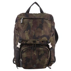 Prada Camouflage Backpack Tessuto Large