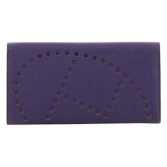 Hermes Evelyne Wallet Chevre Mysore Long