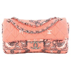 Chanel Bandana Flap Bag Quilted Canvas Medium