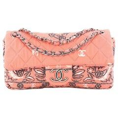 Chanel Bandana Flap Bag Quilted Canvas Medium