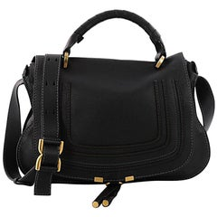 Chloe Marcie Top Handle Bag Leather Medium