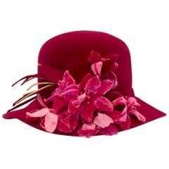 Vibrant Felt Frank Olive Hat