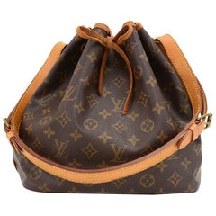 Vintage Louis Vuitton Petit Noe Monogram Canvas Shoulder Bag