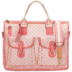 Louis Vuitton Pink Mini Lin Sac Mary Kate 48H