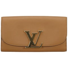 Louis Vuitton Brown Capucines Wallet