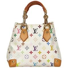 Louis Vuitton White x Multi Monogram Multicolore Audra