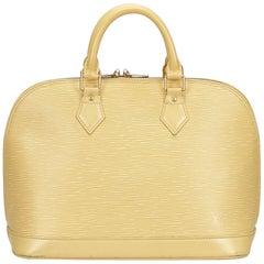 Louis Vuitton White x Ivory Epi Alma PM