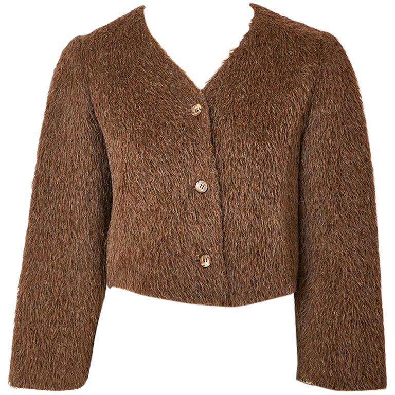 Geoffrey Beene Mohair Jacket For Sale