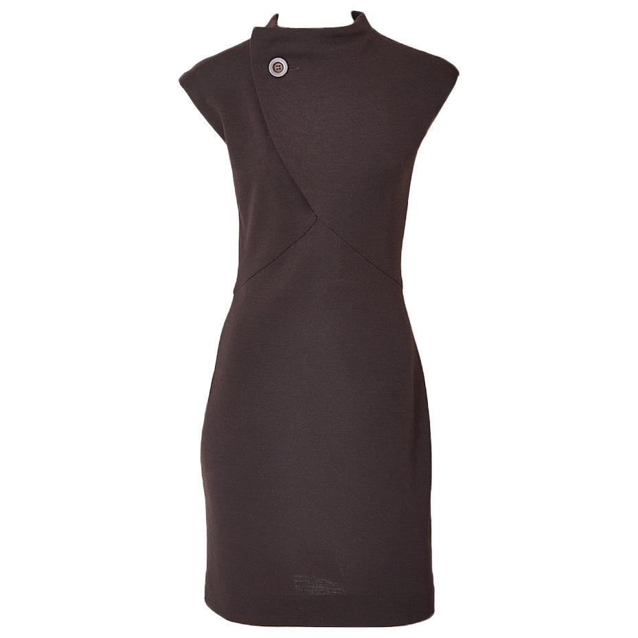 Geoffrey Beene Wool Jersey Day Dress