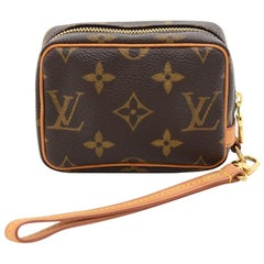 Louis Vuitton Trousse Wapity Monogram Canvas Pouch Bag