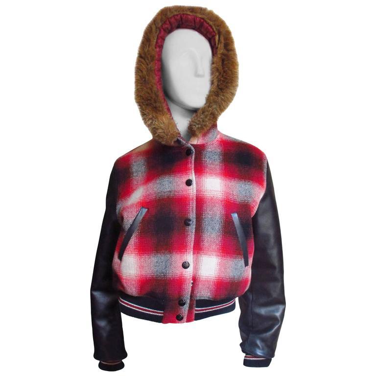 1980w Jean Paul Gaultier Junior Gaultier Plaid Jacket