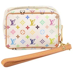 Louis Vuitton Trousse Wapity Multicolor Monogram Canvas Pouch Bag