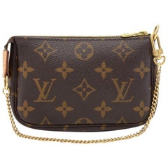 Louis Vuitton Mini Pochette Accessoires Monogram Canvas Bag