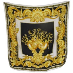 Gianni Versace Atelier silk medusa scarf