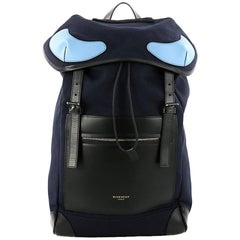 Givenchy Rider Backpack Canvas with Leather