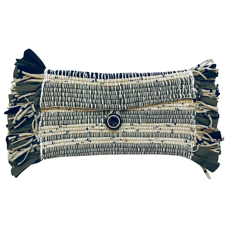 Fringed Clutch/Fanny Pack