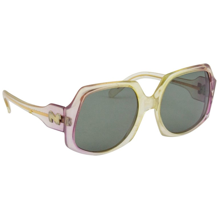 Nina Ricci Oversized Sunglasses, 1970s