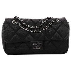 Chanel Le Marais Ligne Flap Bag Quilted Coated Canvas Medium