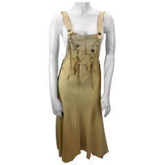 Skin Clothes Leather Jumper Dress